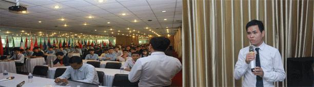 Phần mềm Dự tóan F1 tổ chức hội thảo cho sinh viên đại học Công Nghệ Đồng Nai 2018