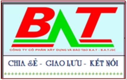 Học dự toán thử miễn phí online và trực tiếp tại trung tâm B.A.T Hà Nội