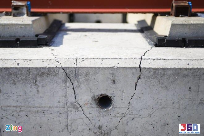 Sự cố trượt dầm metro gối cao su không đúng hồ sơ thiết kế