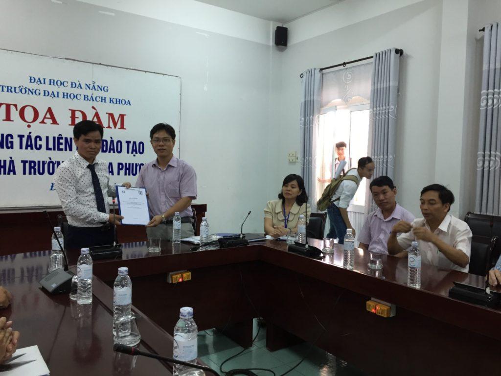 Ký kết, hợp tác và chuyển giao phần mềm Dự toán F1 tại đại học Bách Khoa Đà Nẵng