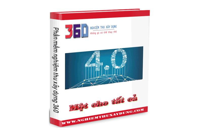 Phần mềm Nghiệm thu 360 - Hoàn công - QLCL
